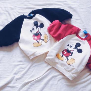kids★raglan mickey pullover