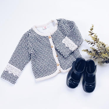 kids ★quilting race cardigan