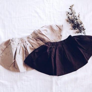 kids★simple flare skirt