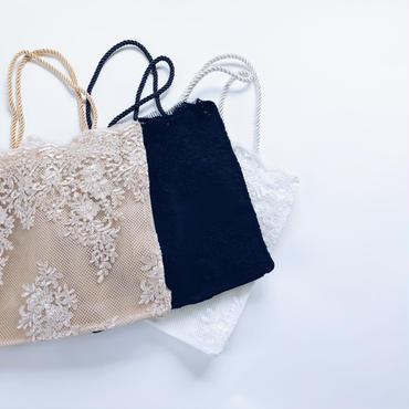 lace tote bag(L size)