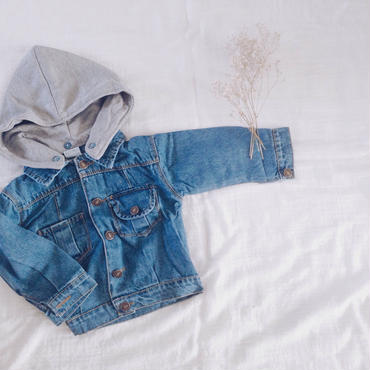 kids★denim foodjacket