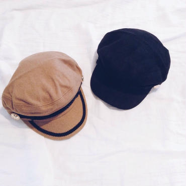 【ladies】wool marine cap