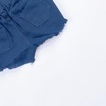 kids★damage Black short pants