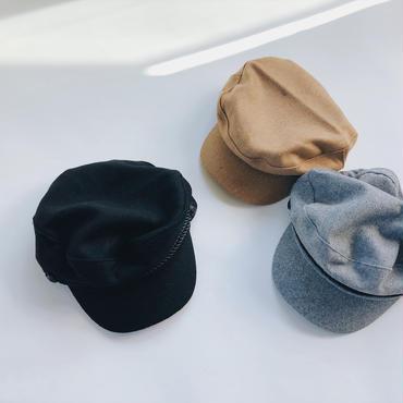 kids★wool marine casquette