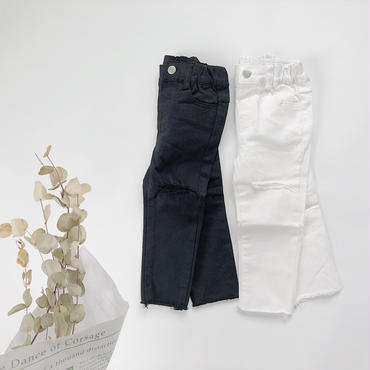 kids★damage stretch skinny pants