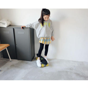 kids★check skirt leggings pants