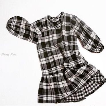 checked one-piece/90・100