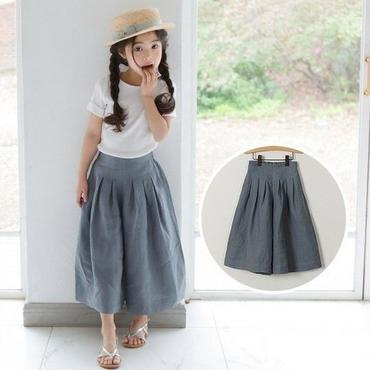 high waist-wide pants