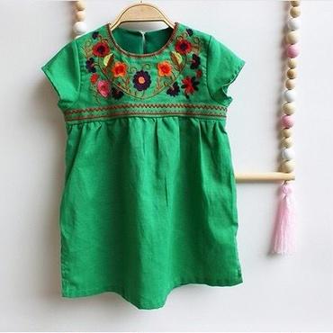 flower tunic/80