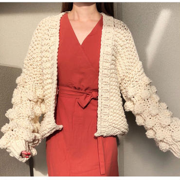 ladies//low gauge knit cardigan