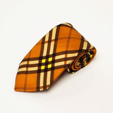 silk check tie / CESKY MOFF