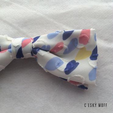 blossom bow tie -square- / CESKY MOFF