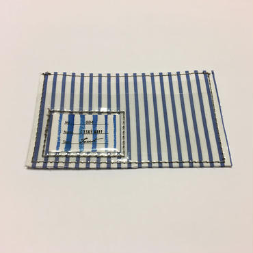 Sandwich card case -THOMAS MASON Stripe- / CESKY MOFF