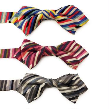 color bars bow tie / CESKY MOFF