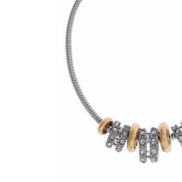 Multi Plated Charm Bracelet / Louche