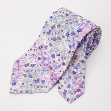 flower camouflage tie / CESKY MOFF