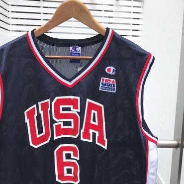 Champion/チャンピオン バスケットタンクトップ USA6 HOUSTON 2000年前後 (USED)