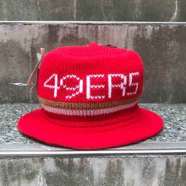 SAN FRANCISCO49ers/サンフランシスコ49ers ニットハット 90年代 Made In USA (DEADSTOCK)