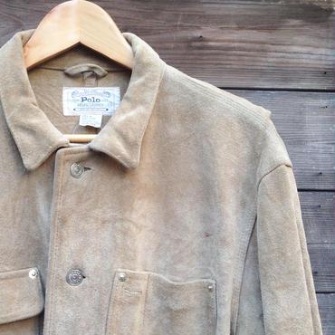 Polo Ralph Lauren/ポロラルフローレン スエードジャケット 80年代  (USED)