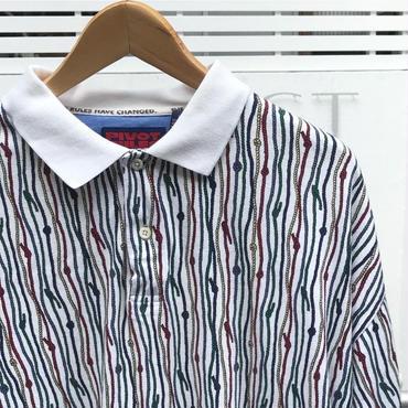 PIVOT RULES/ピボットルールズ  スムス ポロシャツ 90年代 (USED)