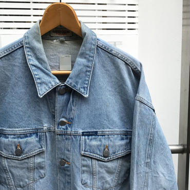 GUESS JEANS/ゲスジーンズ ショート丈 ウォッシュド Gジャン 90年代 Made In USA (USED)