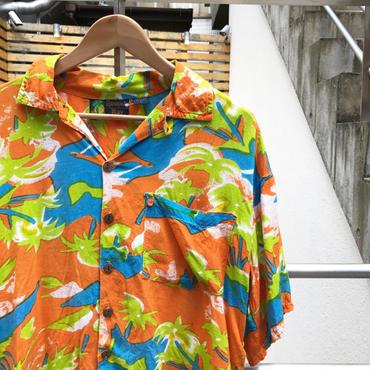 Roundy Bay/ラウンディベイレーヨン アロハシャツ 90年代 (USED)