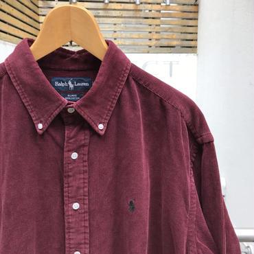 Polo Ralph Lauren/ポロラルフローレン コーディロイボタンダウンシャツ 2000年前後 (USED)