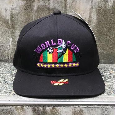 WORLD CUP/ワールドカップ 刺繍ロゴキャップ 90年代  (DEADSTOCK)