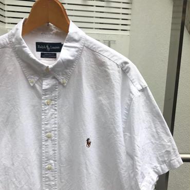Polo Ralph Lauren /ポロラルフローレン 半袖ボタンダウンシャツ 90年代 (USED)