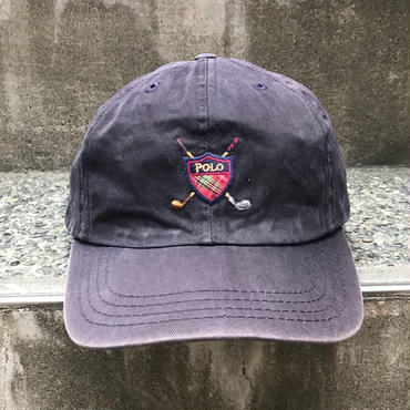 PoloRalphLauren/ポロラルフローレン ゴルフキャップ 90年代 Made In USA (USED)