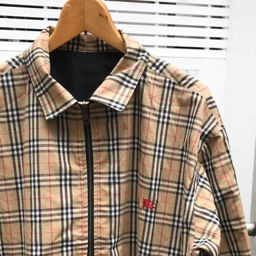 Burberry's/バーバリー リバーシブル スウィングトップ 90年代 Made In ENGLAND (USED)