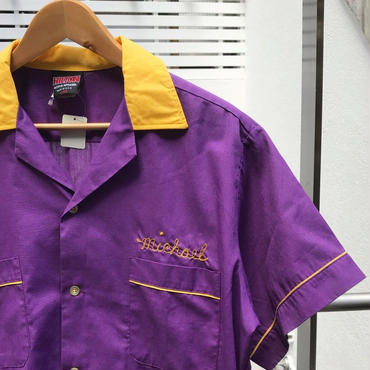 HILTON/ヒルトン ボーリングシャツ 90年代 Made In USA (USED)