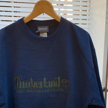 Timberland/ティンバーランド ロゴスウェット 90年代  (DEADSTOCK)