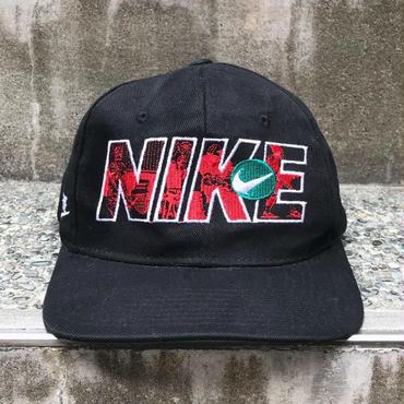 NIKE/ナイキ キャップ スウォッシュスナップバック 90年代 Made In USA (USED)