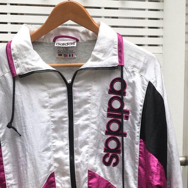 adidas/アディダス ナイロンウィンドブレーカージャケット 90年代 (DEADSTOCK)