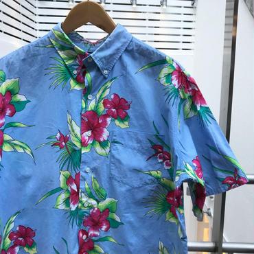 PoloRalphRauren/ポロラルフローレン ボタンダウン ハワイアン柄シャツ 90年代 (USED)
