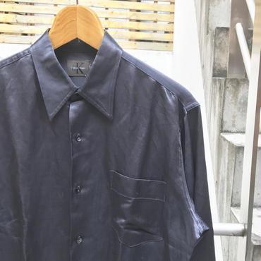 CK calvin klein/カルバンクライン サテンシャツ 2000年前後 (USED)