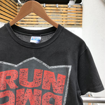 RUN DMC/ランディーエムシー BACK FROM HELL Tシャツ 90年代 Made In USA (USED)