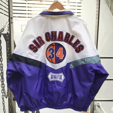 NIKE/ナイキ SIR CHARLES ナイロンジャケット 90年代 (USED)