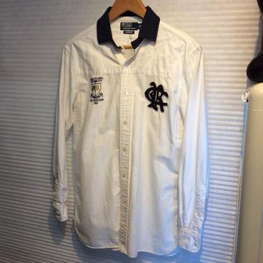 Polo Ralph Lauren/ラルフローレン ワッペン付き切替シャツ(USED)