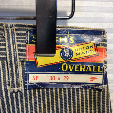 SMITH'S OVERALLS 50's~60's ヒッコリーペインターパンツ (DEADSTOCK)