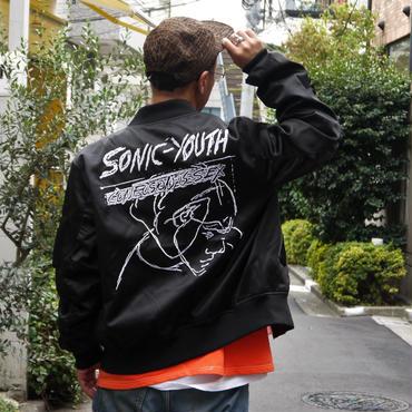 ELEVEN PARIS x SONIC YOUTH/イレブンパリ x ソニックユース サテンジャケット (NEW)