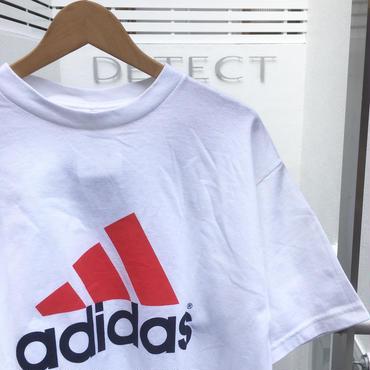 ADIDAS/アディダス ロゴプリントTシャツ 90年代  Made In USA (DEADSTOCK)