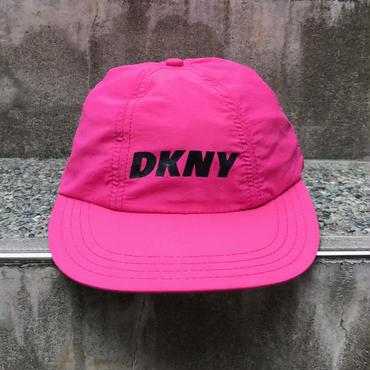 DKNY/ダナキャランニューヨーク キャップ 90年代 Made In USA (USED)