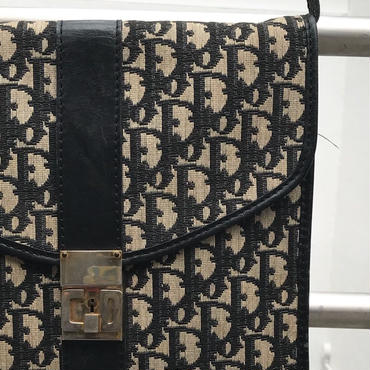 Christian Dior/クリスチャンディオール スクエアショルダーバッグ 90年前後 Made In FRANCE (USED)