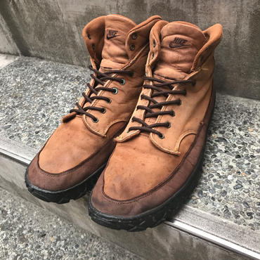 NIKE acg/ナイキ  エーシージー ZION LEATHER MID 95年製 (USED)