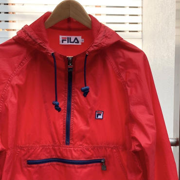 FILA/フィラ ハーフジッププルオーバージャケット 90年代 (USED)