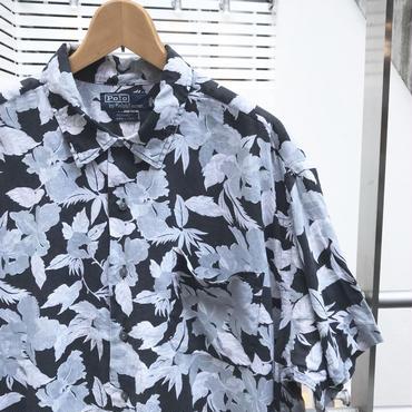 PoloRalphRauren/ポロラルフローレン レーヨンリネンアロハシャツ 90年代 (USED)