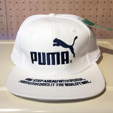 PUMA/プーマ 80年代 メッシュキャップ  台湾製 (DEADSTOCK)