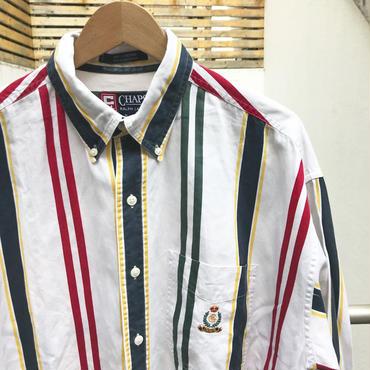 CHAPS RALPH LAUREN/チャップスラルフローレン ボタンダウンストライプシャツ 90年代 (USED)